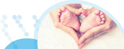 רגליים של תינוק