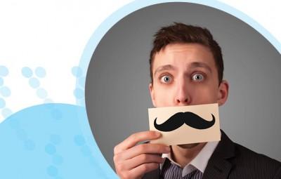 איש עם שפם