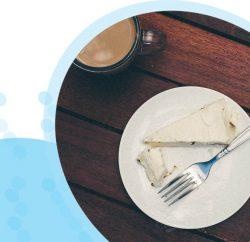 מתכון לעוגת גבינה קרה דלת פחמימות